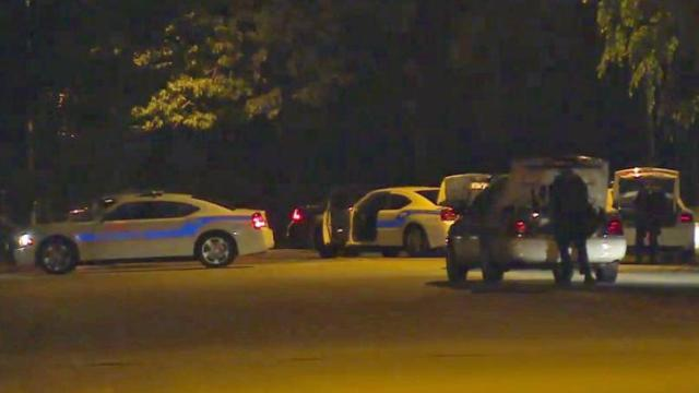 No injuries were reported Tuesday night in a standoff at a home in the 300 block of Hinsdale Avenue in Fayetteville, police said.