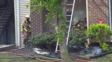 IMAGES: Authorities: Fayetteville apartment fire was accidental