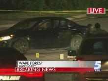 Man shot by police in Wake Forest