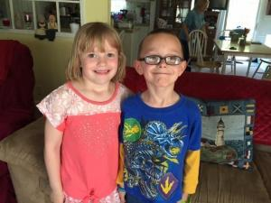 Joseph and Kassia Tedder were bullied on the bus from Corinth Holders Elementary School in Zebulon.