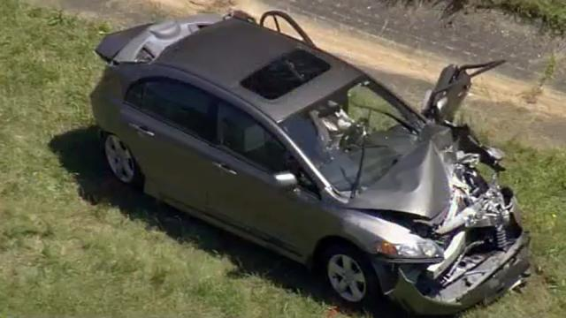 Two men died after their Honda Civic was rear-ended on U.S. Highway 15/501 near the Chatham-Lee county line on May 13, 2015, forcing the car into a line of stopped traffic.