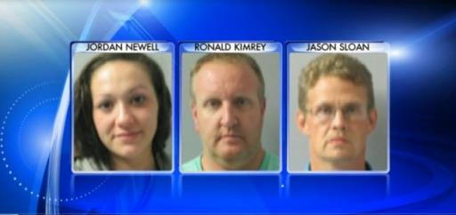 Five people were arrested Saturday after authorities said they found two methamphetamine labs in Chatham County.