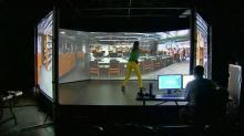 IMAGE: Virtual training puts WRAL reporter in police shoes