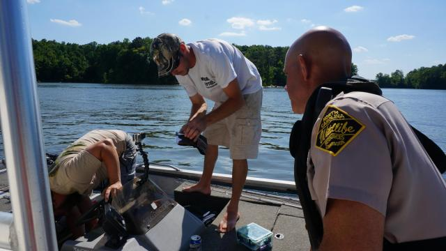 With thousands of North Carolinians expected to cruise the state's waterways this holiday weekend, officers with the Wildlife Resources Commission are reminding boaters to stay safe.