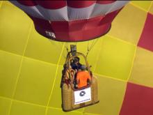 Up and away: A 'magical' ride at Balloon Fest