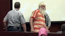 "Leander Jones in court, ""Santa Lee Jones"""