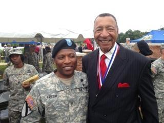 Retired Chief Warrant Officer Four Bennie Manning, of Raleigh, was inducted this weekend to the U.S. Army Quartermaster Hall of Fame.