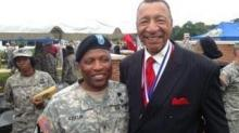 IMAGES: Raleigh man honored for Army service