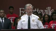 Fayetteville Police Chief Harold Medlock