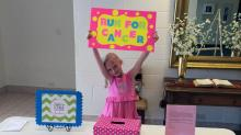 IMAGES: Nashville girl with big heart organizes 'fun run' for cancer awareness