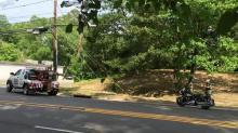 IMAGE: Durham police officer injured in wreck
