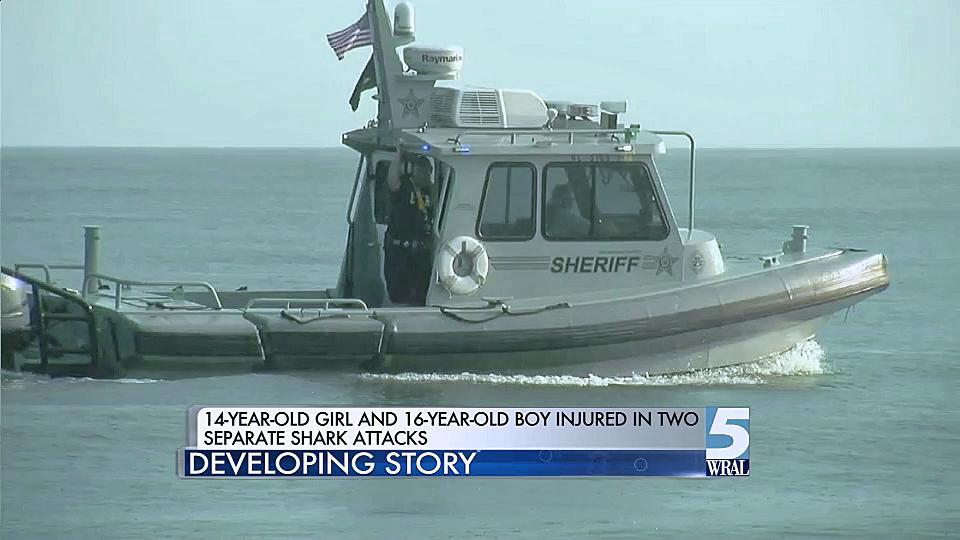 Teens Injured In Shark Attacks