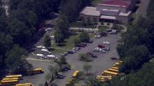 East Cary Middle gas leak