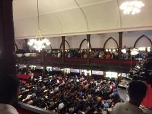 Charleston church service