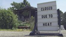 IMAGE: Outdoor businesses, workers battle extreme heat across central NC
