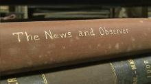 IMAGE: UNC project helps save, digitize NC's historic newspapers