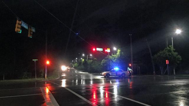 An unidentified female pedestrian died late Friday after being injured in a hit-and-run crash in Cary, police said.