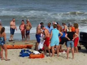 A 17-year-old man is the sixth person to be bitten by a shark this summer off the coast of North Carolina.  (Photo courtesy: David Marko)