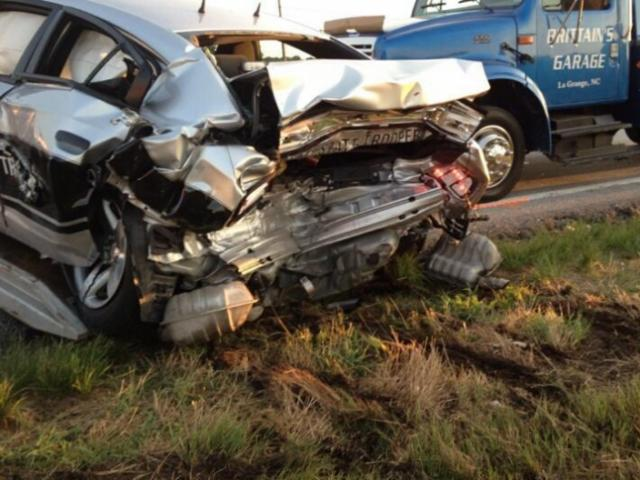 A North Carolina State Highway Patrol trooper was injured in Lenoir County after his patrol vehicle was hit by another vehicle on U.S. Highway 70 West near La Grange. The trooper's vehicle was stationary with its emergency lights activated when it was hit, the highway patrol said.