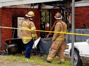 A 63-year-old man was killed late Tuesday in a fire at a northwest Fayetteville home, officials said.