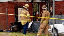 IMAGES: Man killed in Fayetteville house fire; cause unknown