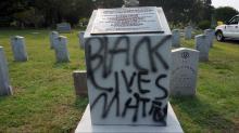Durham cemetery vandalism