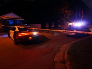 Raleigh police investigate a fatal shooting in the 700 block of Quarry Street on July 2, 2015.