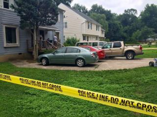 Raleigh police investigate a shooting at 3112 Crandon Lane on July 3, 2015.