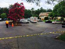 A Chapel Hill hazmat team responded to Pinegate Apartments on July 8, 2015, because of chemical fumes after a contractor improperly used paint remover.