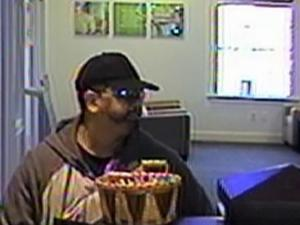Fuquay-Varina police were looking for an armed man Thursday morning after he robbed a bank.
