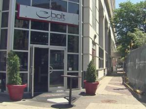 Bolt Bistro will have a better view once updates are complete on Market and Exchange plazas in downtown Raleigh.
