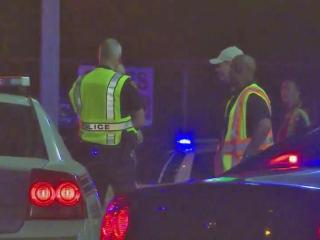 A 34-year-old pedestrian died late Friday after being injured in a hit-and-run crash near Fayetteville's VA Medical Center, police confirmed Saturday.