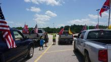IMAGES: Confederate flag 'Heritage Ride' held in Harnett County