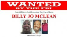Billy Jo McLean Wanted poster