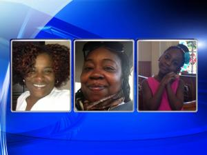 Felecia Harris, Darlene McGee and Jahnice Baird, left to right, were killed in a July 19, 2015, collision on Interstate 85 in Orange County.