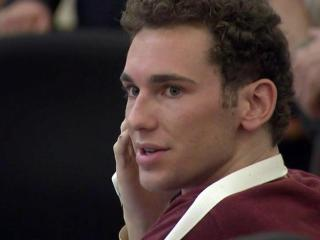 Chandler Michael Kania appears in an Orange County courtroom on July 23, 2015, to face murder charges in a crash on Interstate 85 that killed three people.