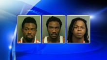 IMAGES: Three men arrested, charged in fatal Raleigh shooting