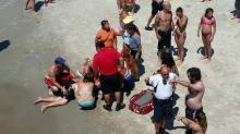 IMAGES: Recovery uncertain for Raleigh man who fell off beach pier