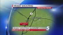 Manhunt for suspected gunman moves to Zebulon