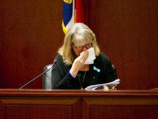 Carrie Taylor was moved to tears several times as she recalled the last day and night of her son, Jonathon Gregory Taylor, known as JT.