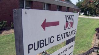 DMV office, Division of Motor Vehicles
