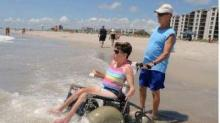 IMAGE: NC beach towns work to be more wheelchair-accessible