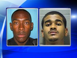 What happened during a traffic stop when Kelly Stewart (left) attempted to arrest Carlos Riley Jr.?