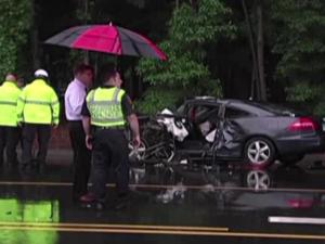 Elizabeth Griffiths, an East Carolina University student from Raleigh, was killed in a May 20, 2013, crash in Greenville. Mitchell Grey Wilkerson pleaded guilty to using a cellphone while driving in the crash.