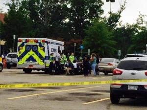 The WalMart on New Bern Ave. was evacuated Friday Morning