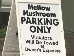 Glenwood South restaurant gets tough on towing