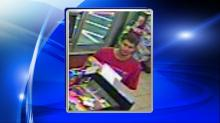 IMAGES: Raleigh police searching for man who drove into store, stole lottery tickets