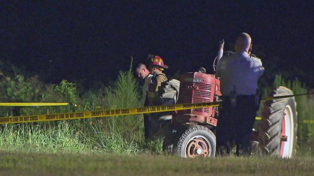A 78-year-old man died Monday in a tractor accident at a home on Wilmington Road in Garner, according to the Wake County Sheriff's Office.