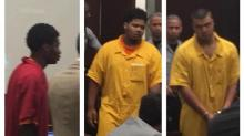 IMAGES: Men charged in teen's death will remain in jail