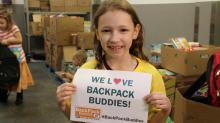 IMAGES: BackPack Buddies drive Saturday will feed hungry kids